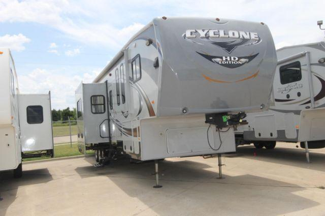 2011 Heartland Cyclone 3950 Hd Edition Toy Hauler Fifth
