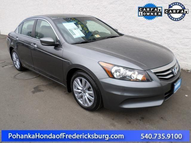 2011 honda accord 4d sedan ex l for sale in fredericksburg for Honda accord 2011 for sale