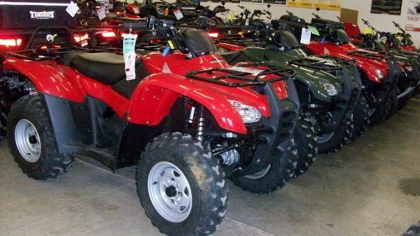 2011 Honda FourTrax Rancher AT (TRX420FA)