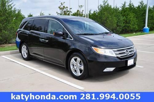 Used Vehicles For Sale In Katy Tx Honda Cars Of Katy: 2011 Honda Odyssey 4D Passenger Van Touring Elite For Sale