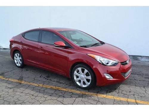 2011 hyundai elantra 4d sedan limited for sale in antioch illinois classified. Black Bedroom Furniture Sets. Home Design Ideas