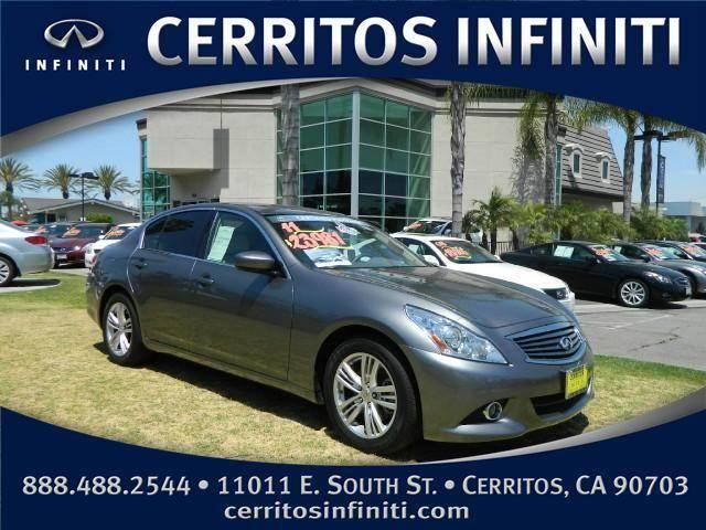 2011 infiniti g g25 sedan 4d for sale in artesia. Black Bedroom Furniture Sets. Home Design Ideas