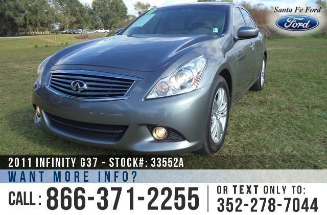 2011 Infiniti G37 Sedan - On-Site Financing!
