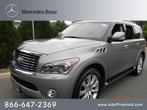 2011 infiniti qx56 suv 4wd 4dr 8 passenger for sale in east freehold new jersey classified. Black Bedroom Furniture Sets. Home Design Ideas