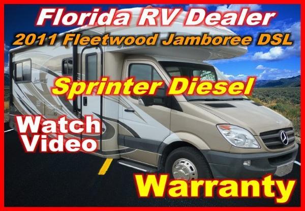 2011 jamboree dsl 24 d mercedes sprinter diesel for sale in port charlotte florida classified. Black Bedroom Furniture Sets. Home Design Ideas