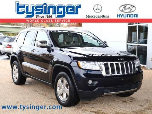 2011 jeep grand cherokee 4d sport utility limited for sale Tysinger motor company