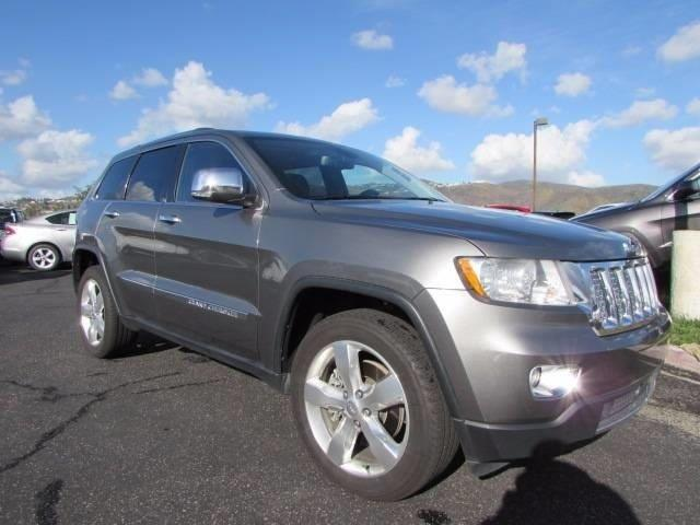 2011 Jeep Grand Cherokee Overland Summit 4x4 Overland