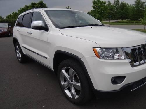 2011 Jeep Grand Cherokee Sport Utility OVERLAND for Sale