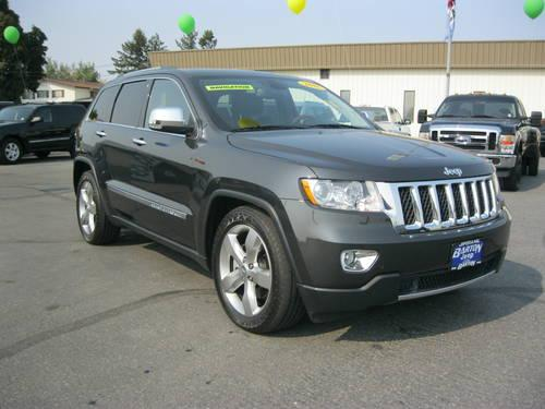 2011 jeep grand cherokee suv overland for sale in spokane. Black Bedroom Furniture Sets. Home Design Ideas