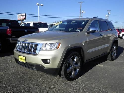2011 jeep grand cherokee suv overland for sale in temple texas. Cars Review. Best American Auto & Cars Review
