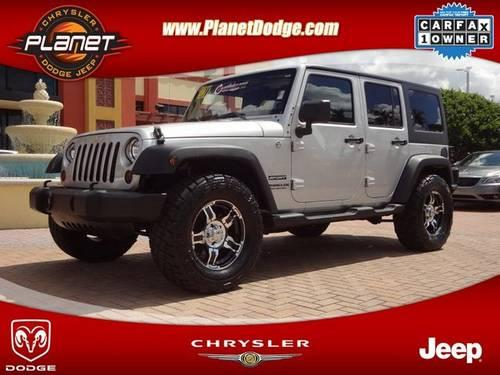 2011 jeep wrangler 4dr unlmtd sport for sale in miami florida classified. Black Bedroom Furniture Sets. Home Design Ideas