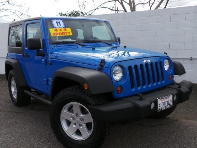 2011 jeep wrangler sport 4x4 sport 2dr suv for sale in knights ferry california classified. Black Bedroom Furniture Sets. Home Design Ideas