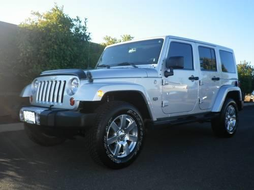 2011 jeep wrangler unlimited 4dr 4x4 70th anniversary 70th anniversary for sale in medford. Black Bedroom Furniture Sets. Home Design Ideas