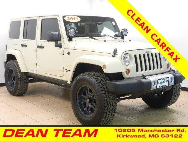2011 jeep wrangler unlimited convertible sahara for sale in saint louis missouri classified. Black Bedroom Furniture Sets. Home Design Ideas