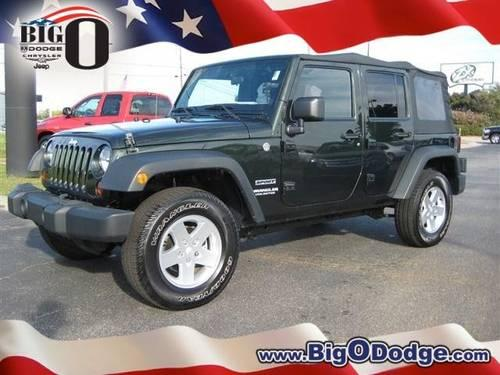 2011 Jeep Wrangler Unlimited Convertible Sport