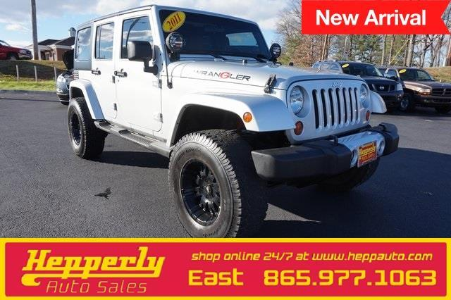 2011 jeep wrangler unlimited sahara 4x4 sahara 4dr suv for sale in maryville tennessee. Black Bedroom Furniture Sets. Home Design Ideas