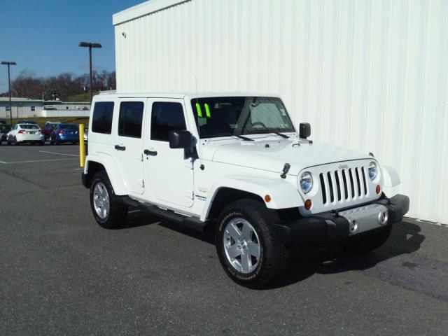 2011 Jeep Wrangler Unlimited Sahara 4x4 Sahara 4dr SUV