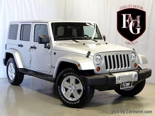 2011 Jeep Wrangler Unlimited Sahara For Sale In Barrington