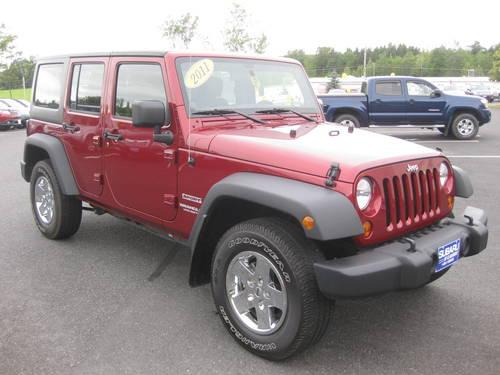 2011 jeep wrangler unlimited suv sport for sale in claremont new hampshire classified. Black Bedroom Furniture Sets. Home Design Ideas