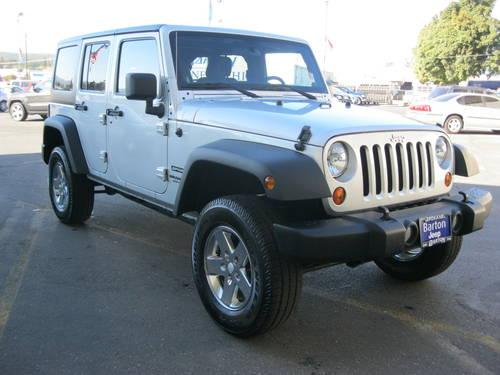 2011 jeep wrangler unlimited suv sport for sale in spokane. Black Bedroom Furniture Sets. Home Design Ideas
