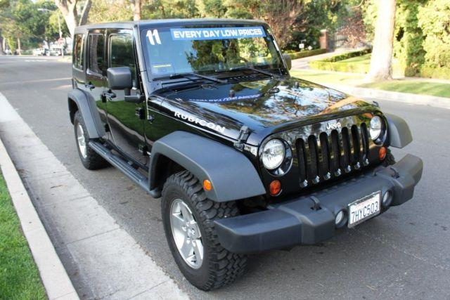 2011 jeep wrangler unlimited wagon 4 dr rubicon for sale in los angeles california classified. Black Bedroom Furniture Sets. Home Design Ideas
