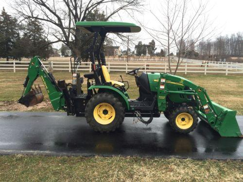 2011 john deere 2320 diesel tractor for sale in quakertown. Black Bedroom Furniture Sets. Home Design Ideas