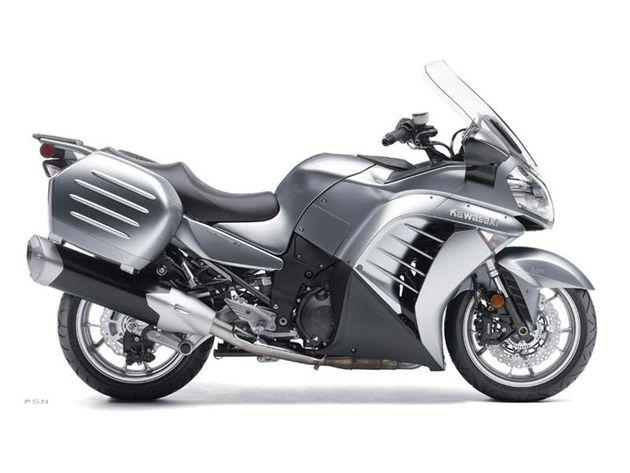 What Is The Curb Weight Of A  Kawasaki Concours