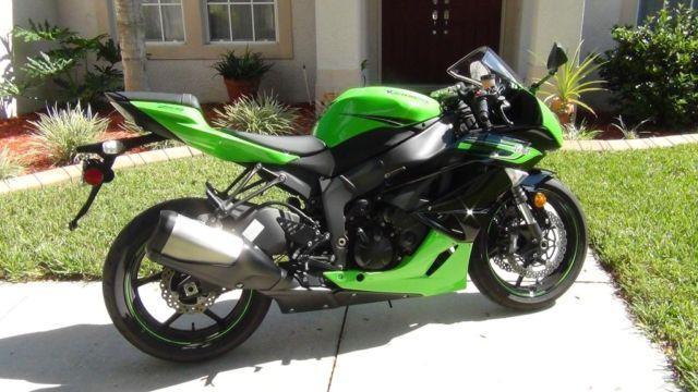 2011 Kawasaki Ninja Zx6r For Sale In Brandon Florida Classified