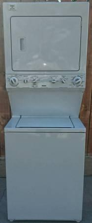 2011 Kenmore Electric Stack Able Washer Dryer Combo