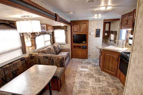 2011 Keystone Cougar X Lite 31sqb Bunkhouse W 2 Slides