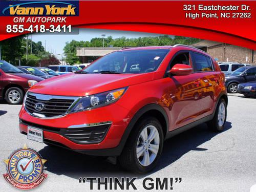 2011 kia sportage suv for sale in high point north carolina classified. Black Bedroom Furniture Sets. Home Design Ideas