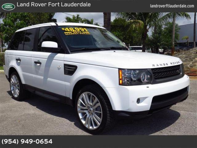 2011 land rover range rover sport for sale in pompano beach florida classified. Black Bedroom Furniture Sets. Home Design Ideas