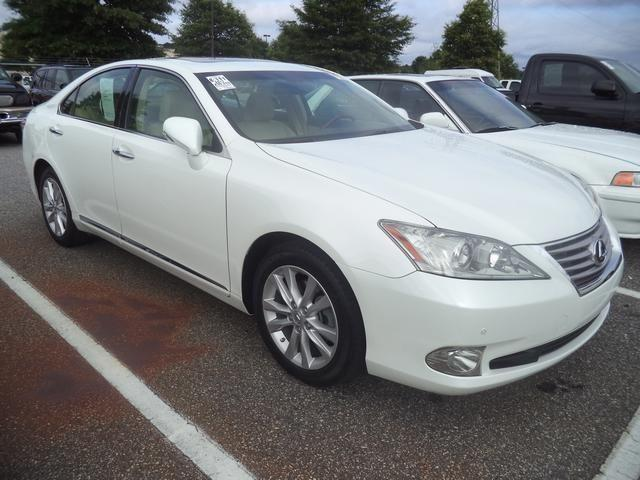 2011 lexus es 4d sedan 350 for sale in anderson south carolina classified. Black Bedroom Furniture Sets. Home Design Ideas