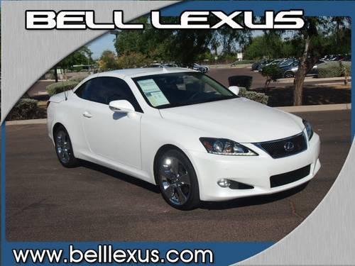 2011 lexus is 250c convertible 250 c for sale in phoenix arizona classified. Black Bedroom Furniture Sets. Home Design Ideas
