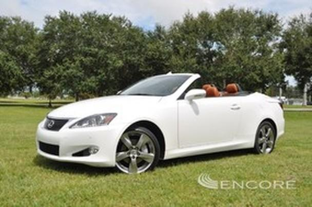 2011 lexus is 250c convertible lux pack navi camera. Black Bedroom Furniture Sets. Home Design Ideas