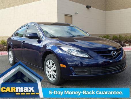 2011 Mazda Mazda6 i Sport i Sport 4dr Sedan 6M