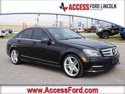 2011 mercedes benz c class 4 door sedan for sale in corpus Mercedes benz corpus christi