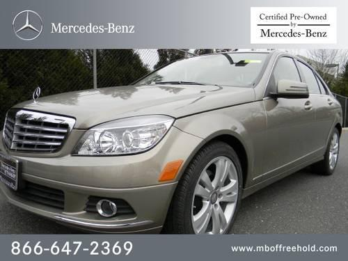 2011 mercedes benz c class sedan 4dr sdn c300 luxury for Freehold mercedes benz