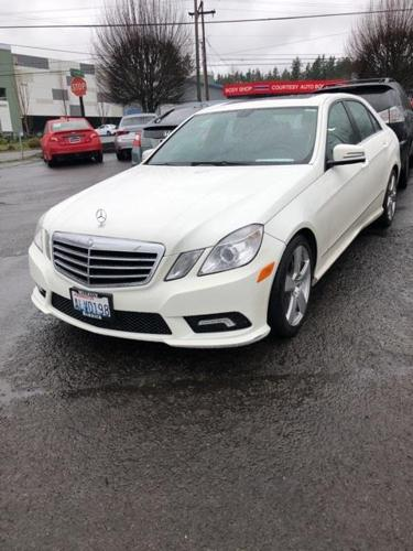 2011 mercedes benz e class e 350 luxury e 350 luxury 4dr sedan for sale in portland oregon. Black Bedroom Furniture Sets. Home Design Ideas