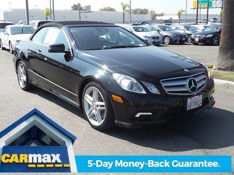 2011 mercedes benz e class e550 e550 2dr convertible for sale in costa mesa california. Black Bedroom Furniture Sets. Home Design Ideas
