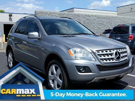 2011 mercedes benz m class ml 350 4matic awd ml 350 4matic for Mercedes benz suv carmax