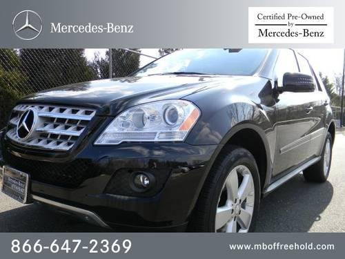 2011 mercedes benz m class suv 4matic 4dr ml350 for sale for Mercedes benz freehold nj
