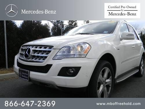 2011 mercedes benz m class suv 4matic 4dr ml350 bluetec for Mercedes benz freehold nj