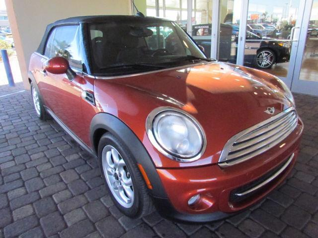 2011 MINI Cooper Base Base 2dr Convertible