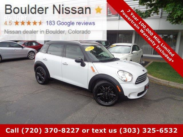 2011 MINI Cooper Countryman Base Base 4dr Crossover