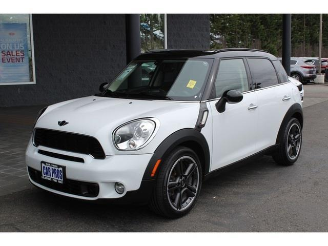 2011 mini cooper countryman s all4 awd s all4 4dr crossover for sale in renton washington. Black Bedroom Furniture Sets. Home Design Ideas