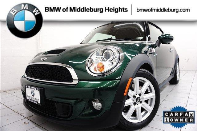 2011 mini cooper s s 2dr convertible for sale in cleveland ohio classified. Black Bedroom Furniture Sets. Home Design Ideas