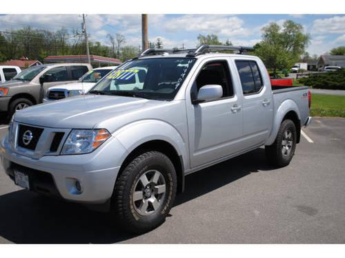2011 nissan frontier crew cab 4x4 pro 4x for sale in new hampton new york classified. Black Bedroom Furniture Sets. Home Design Ideas