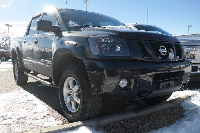 2011 nissan titan pro 4x 4x4 pro 4x 4dr crew cab swb pickup for sale in denver colorado. Black Bedroom Furniture Sets. Home Design Ideas