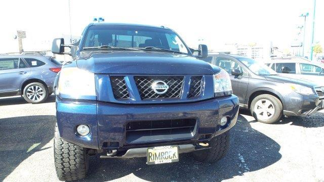 2011 nissan titan pro 4x 4x4 pro 4x 4dr king cab swb pickup for sale in billings montana. Black Bedroom Furniture Sets. Home Design Ideas
